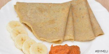 Pancake con Farina di Banana Verde